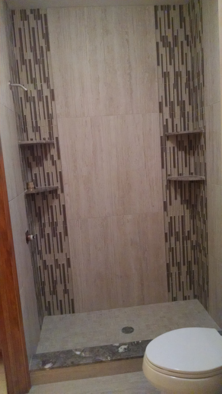 Custom Ceramic Tile Installation for Shower Enclosures